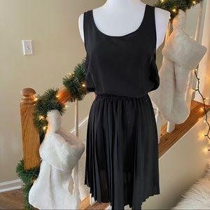 {preloved} Black Pleated Dress